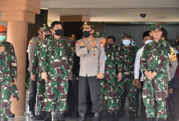 Kapolri dan Panglima TNI Kunker ke RSKI Galang di 1
