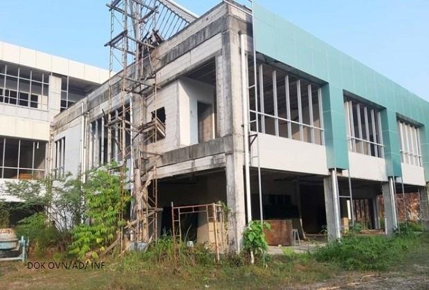 Rumah sakit M Zen Painan Terbengkalai